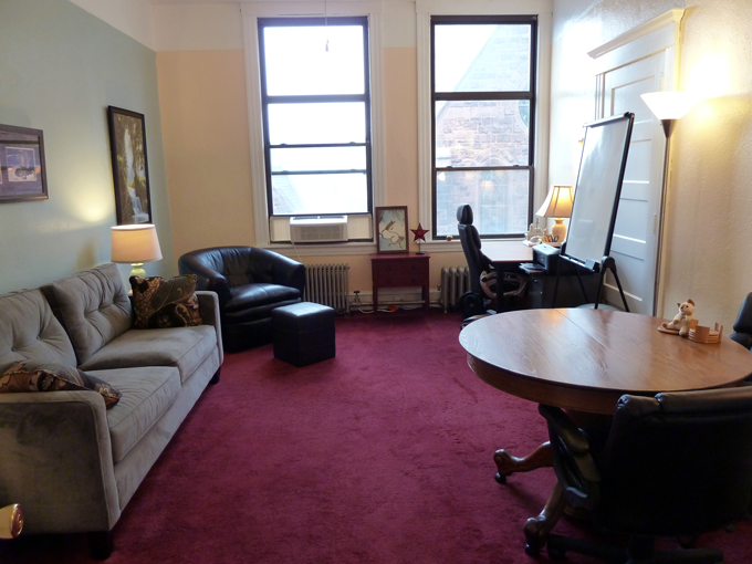 The Conscious Learner's office: 16 Center Street, Suite 327